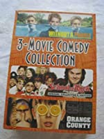 3-MOVIE COMEDY COLLECTION-WITHOUT A PADDLE- ORANGE COUNTY- SCHOOL OF ROCK [並行輸入品]