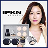 IPKN / イプクン 振動パフ スターター5点セット ( 電動パフ ファンデーション コンシーラー フィニッシュパウダー セット )
