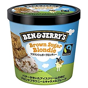 ベン&ジェリーズ ブラウンシュガーブロンディー 120ml×36個