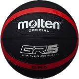 molten(モルテン) バスケットボール GR5 BGR5-KR ブラック×レッド 5号
