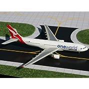 ジェミニジェッツ 1/400 エアバス A330,200 カンタス航空 One World VH,EBL