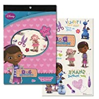 Disneys Temporary Tattoo Book Party Accessory (Doc McStuffins) [並行輸入品]