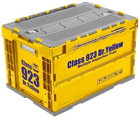 [해외]923 모양 닥터 옐로우 접는 컨테이너 (외부 치수) 530 × 366 × 334/923 Doctor Yellow Folding Container (Dimensions) 530 × 366 × 334
