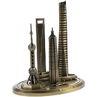 Perfk 全2サイズ 贈り物 飾りもの ホーム オフィス 装飾 上海塔 東方明珠テレビ塔 コレクション 模型 - 高さ:20cm