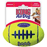 Kong AirDog Squeaker Football Medium Dog Toy