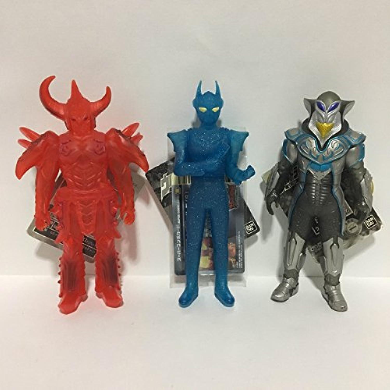 3体セット ウルトラ&怪獣 ソフビ ウルトラフェスティバル2008