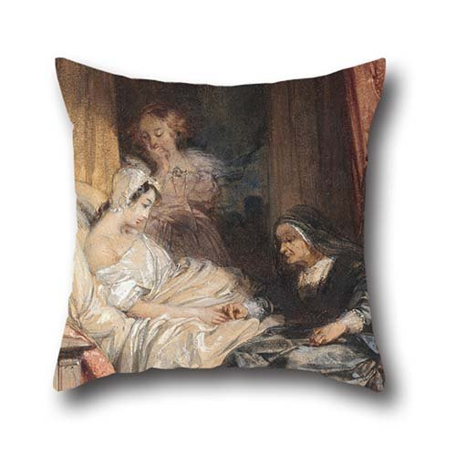 Throw Cushion Covers 16 X 16 Inches / 40 By 40 Cm(each Side) Nice Choice For Chair,car,dinning Room,teens Boys,boys,wedding Oil Painting Richard Parkes Bonington - The Use Of Tears