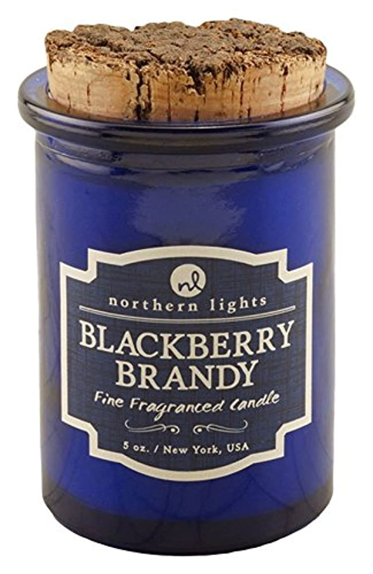 ルーチン美的平行Northern lights Candles スピリットジャーキャンドル ブラックベリーブランデー NLS52602