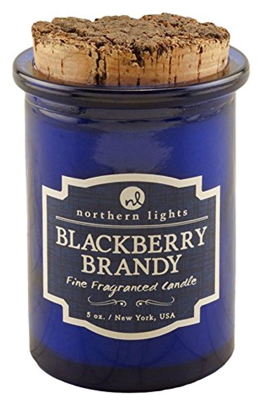 ウッズ収入便宜Northern lights Candles スピリットジャーキャンドル ブラックベリーブランデー NLS52602