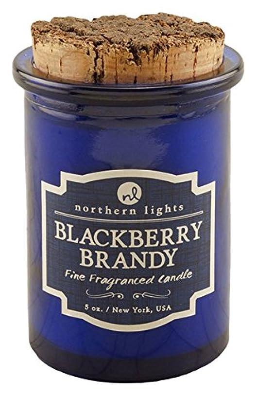 秘密の明るくする書士Northern lights Candles スピリットジャーキャンドル ブラックベリーブランデー NLS52602