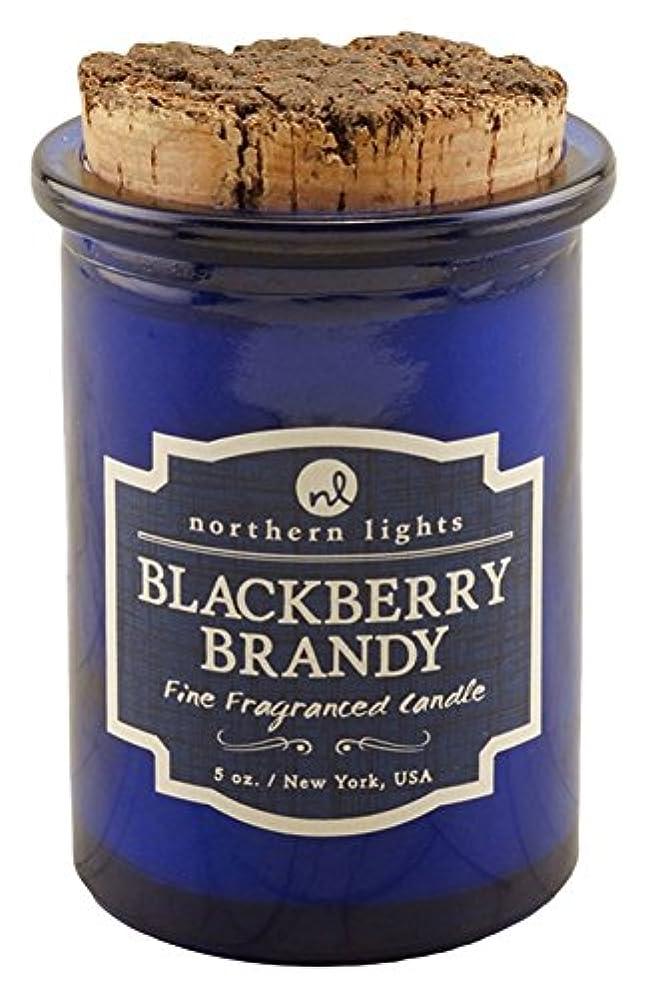 経過マークダウン農学Northern lights Candles スピリットジャーキャンドル ブラックベリーブランデー NLS52602