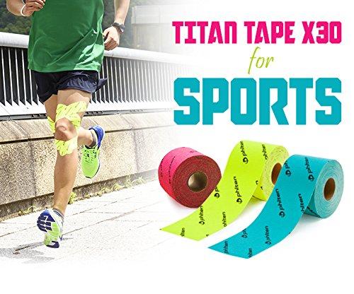 ファイテン(phiten) チタンテープ X30 伸縮タイプ スポーツ ベージュ 5.0cmX4.5m
