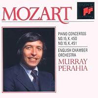 Mozart;Piano Concs. 15 & 16