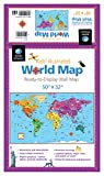 Kids' Illustrated World Map: 50
