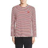 (コム デ ギャルソン) COMME DES GARCONS メンズ トップス 長袖Tシャツ PLAY Stripe Long Sleeve T-Shirt [並行輸入品]