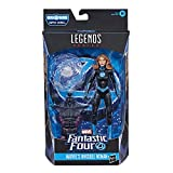 Marvel Legendsシリーズ ファンタスティック・フォー 6インチ コレクティブル アクションフィギュア マーベルズ インビジブルウーマン おもちゃ アクセサリー 1個 組み立てパーツ1個