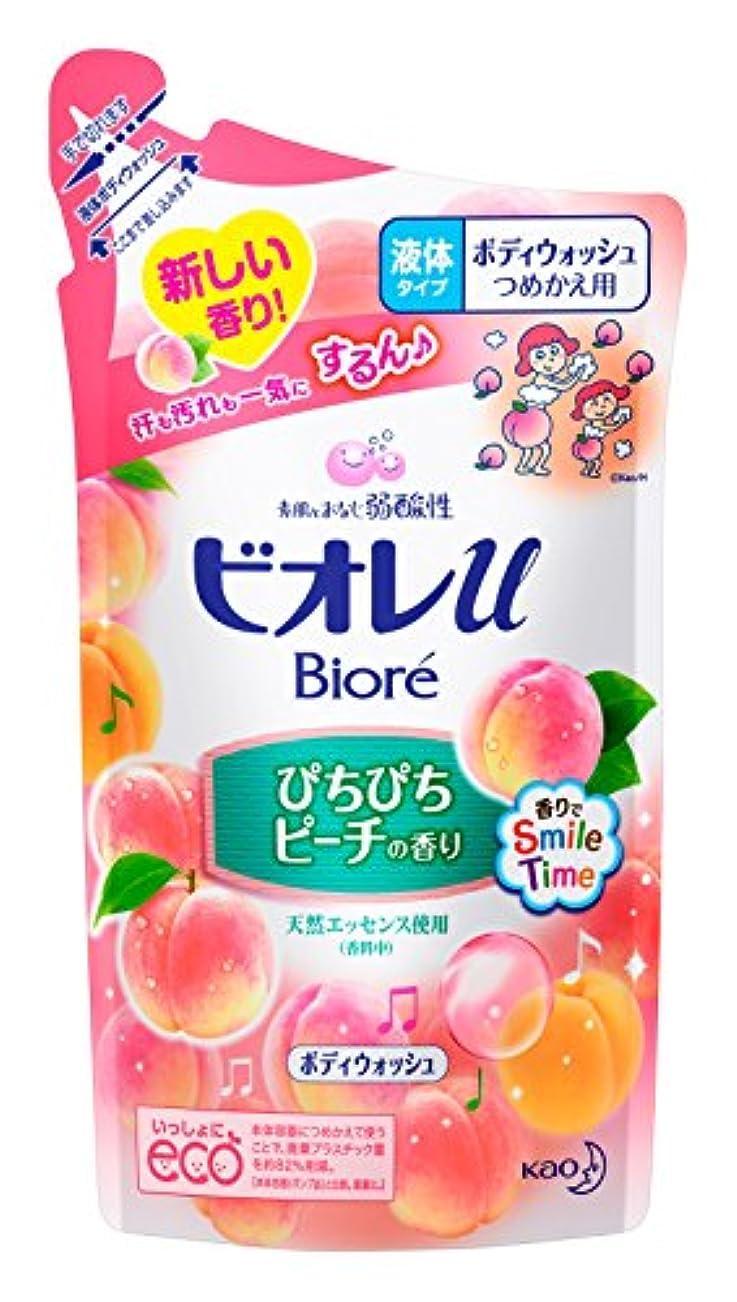 ジュースインフレーション穴ビオレu ぴちぴちピーチの香り つめかえ用 380ml
