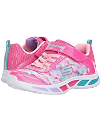 [SKECHERS(スケッチャーズ)] キッズスニーカー?靴 Litebeams 10921L Lights (Little Kid/Big Kid) Neon Pink/Multi 11.5 Little Kid (18cm) M