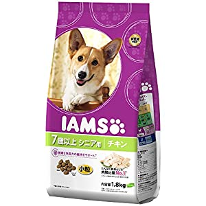 アイムス (IAMS) シニア用7歳以上 チキン小粒 犬用 1.8kg