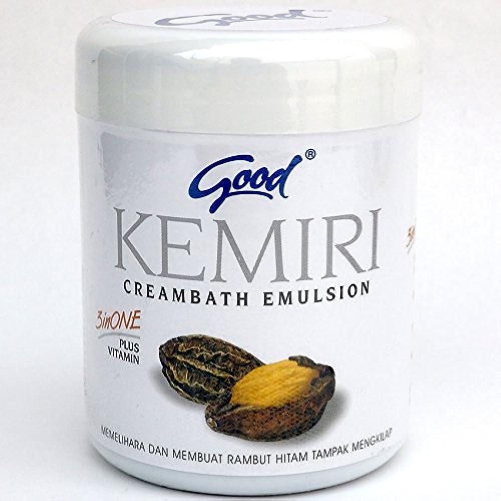 信者値する赤字good グッド インドネシアバリ島の伝統的なヘッドスパクリーム Creambath Emulsion クリームバス エマルション 680g Kemiri クミリ [海外直送品]