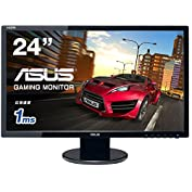 ASUS ゲーミングモニター24型 フルHDディスプレイ ( 応答速度1ms / HDMI,DVI,...