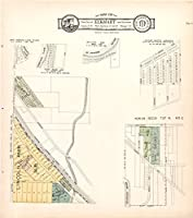 Historic 1929マップ| Atlas and plat book of Elkhart County, Indiana |市の地図Elkhart & environs 12 32in x 36in 5136880_3236