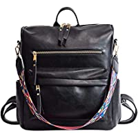 Women Backpack Purse School Shoulder Bag Lightweight Rucksack Men Travel Daypack Convertible Bag 4 Colors 12 x 5 x 12Inches