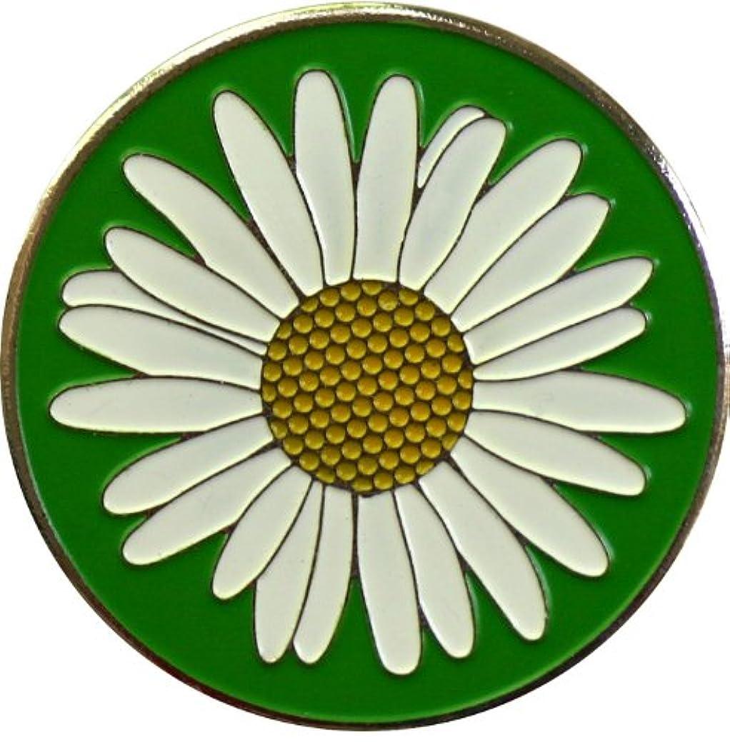 効率的に式しないDaisy花と庭ゴルフボールマーカーwith Matching Plant帽子クリップ