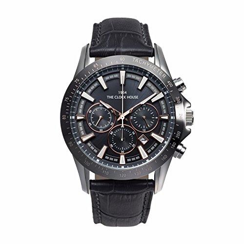 [ザ・クロックハウス] THE CLOCK HOUSE 腕時計 ビジネスカジュアルシリーズ ソーラー MBCMY1602-06 メンズ