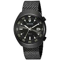 ブローバ Bulova Men's 98B247 Accutron II Analog Japanese Quartz Black Watch [並行輸入品]