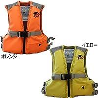お買得品 ライフジャケット 子供用 笛付き Mサイズ FV-6002 オレンジ