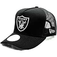 (ニューエラ)NEW ERA 9FORTY D-Frame Trucker NFL オークランド?レイダース ブラック キャップ