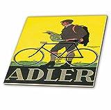 """BLNヴィンテージ自転車広告ポスター–Alderフランクフルトドイツ自転車広告ポスター–タイル 6"""" ct_153246_2"""