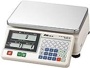 A&D 検定付き店舗用料金はかり SQ-6K ≪ひょう量:6000g 最小表示:1~2g(使用範囲:20~6000g) 皿寸法:300(W)*210(D)mm 検定付: