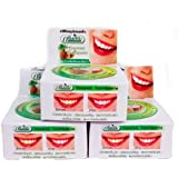 ASN ハーブ歯磨き粉 10g Thailand Coconut Toothpastes Herbal Clove Toothpaste Teeth Whitening Care 3 pcs. by ASN
