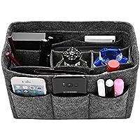 Kumako バッグインバッグ フェルト 小物収納 バッグ インナーバッグ 高級 旅行/通勤/通学など用 収納便利グッズ