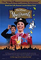 Mary Poppins映画ポスター27x 40、ジュリー・アンドリュース、ディック・ヴァン・ダイク、A、Made in the U。S。A。