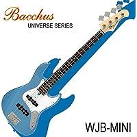 バッカスのミニ・ジャズ・ベース|Bacchus UNIVERSE Series WJB-mini LPB / レイクプラシッド・ブルー 初心者や女性、ギタリストにも!!