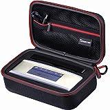 SmatreeB160s ワイヤレスブルートゥーススピーカーバッグ(8.2×4.7×3インチ)、Bose Soundlink Miniに適用 Bose Case 専用保護 スピーカケース  高密度エクセレントカットのEVAフォームインテリアとのキャリングケース 旅行やホームストレージに最適(BLACK&RED)
