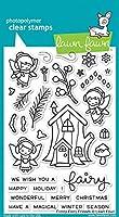 Lawn Fawn Frosty Fairy Friends - Clear Stamp (lf1224) Or Custom Die
