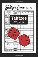 Yahtzee Score Sheets: Yahtzee Score Record Book