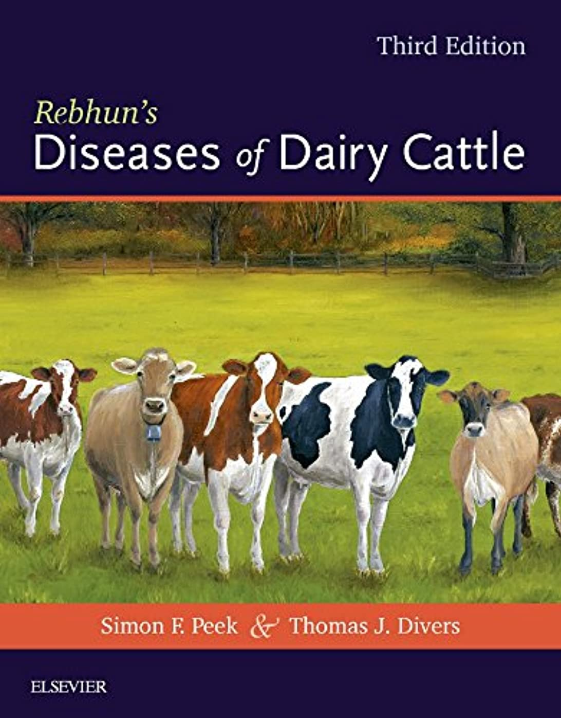 不十分覚えている大通りRebhun's Diseases of Dairy Cattle, 3e
