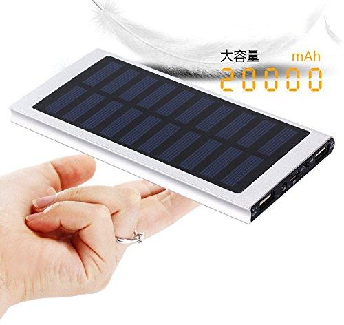 【ポケモンGO】災害対策 モバイルバッテリー ソーラー 充電...