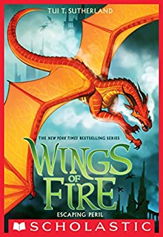 Escaping Peril (Wings of Fire, Book 8) by [Sutherland, Tui T.]