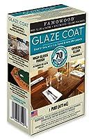 Famowood 5050060 Glaze Coat Epoxy Adhesive Kit - Pint Clear [並行輸入品]