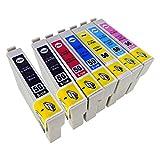 IC6CL50 【 6色 +BK1本 合計7本 】 EPSON (エプソン) B/ue製互換 インクカートリッジ 最新機種対応新型ICチップ付き 【購入から1年保証サービス】
