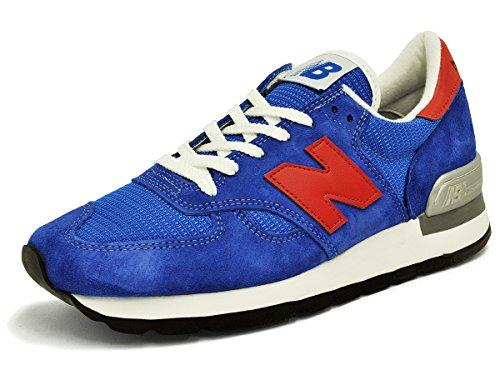 [ニューバランス]New Balance M990SB Dワイズ ブルー/レッド/ホワイト #M990SB[並行輸入品]