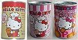 HELLO KITTY ハローキティ おいしいパン缶詰 6缶セット(プレーン、いちご、カンパン各2)