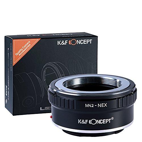 K&F Concept M42レンズ- Sony NEX Eカメラ装着用レンズアダプターリング レンズマウントアダプター マウン...