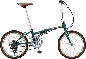 DAHON(ダホン) 折りたたみ自転車 Boardwalk D7 インターナショナルモデル 20インチ 2016年モデル 外装7段変速 クロモリフレーム Matt Ivy HAC072